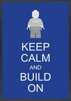 Keep calm and build on!