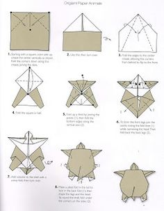 Origami turtle Learning Japanese Language and Culture: how to make origami, Origami Ball, Chat Origami, Instruções Origami, Origami Fish, Money Origami, Origami Bookmark, Origami Butterfly, Paper Crafts Origami, Origami Flowers