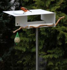 Birdhouses and Bird Baths from OPOSSUM design