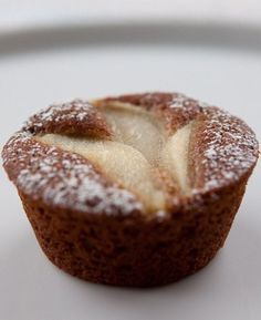 Ginger Pear Spicecakes
