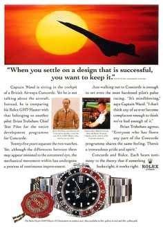 Basel World 2018 Coverage My Best Guess? Rolex's recent Basel World teaser video showed what appears to be some kind profess. Vintage Rolex, Vintage Watches, Vintage Ads, Luxury Watches, Rolex Watches, Members Of Fleetwood Mac, Edwards Air Force Base, Moon Watch, Moon Missions