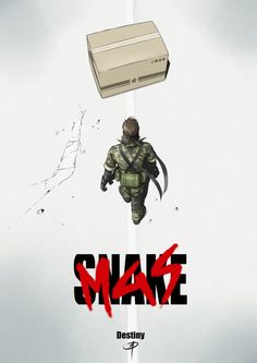 Parody poster - Metal Gear Solid