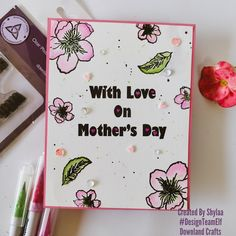 Hello crafty friends, I am here to share a mother's day card for my my DT assignment for Downland crafts. The stamp of focus todayMother's daystamp andCherry Blossomstamp from Downland Crafts! The stamps are available to purchase from Downland Crafts online store! Use DTESHYLAA10 at checkout to get discount Steps involved 1. Take an A2 […] The post Mother's day flowers appeared first on Downland Crafts. Cherry Blossom Flowers, Craft Online, Mothers Day Flowers, Flower Stamp, Stamp Collecting, Stamps, Posts, Crafty, Store