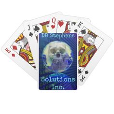 """""""Solutions Inc"""" playing cards by DB Stephens"""