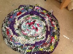 How to Make a Crocheted Rag Rug: 11 Steps (with Pictures)