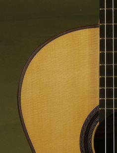 Hill Guitar Co. Guitar: Used French Polish La Curva -SOLD