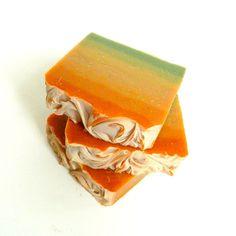 PEYOTE: Citrus Sage Artisan Soap / Cold Process Soap, Handmade Soap, Vegan Soap / Colorful Summer