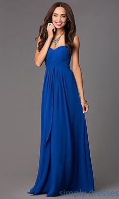 Shop PromGirl for long strapless empire waist prom dresses. Strapless prom gowns and long prom dresses with empire waistlines. Sherri Hill Homecoming Dresses, Strapless Prom Dresses, Prom Dresses 2015, Cheap Bridesmaid Dresses, Grad Dresses, Ball Dresses, Party Dresses, Pastel Prom Dress, Black Tie Wedding Guest Dress