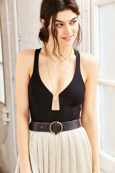 Out From Under Center Stage Bodysuit - Urban Outfitters