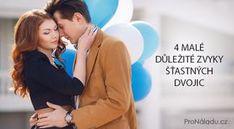 4 malé důležité zvyky šťastných dvojic   ProNáladu.cz Humor, Boho Style, Ds, Anna, Poem, Psychology, Cheer, Ha Ha, Funny Humor