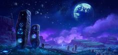 WoW-Moon Artwork