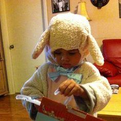 Halloween2013_Dav the Lamb!