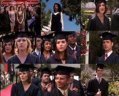Beverly Hill's 90210 College Graduation