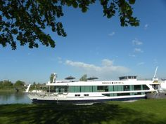 Tour of the common areas, dining venues, and cabins on the Scenic Crystal European river ship of Australian travel company Scenic Tours