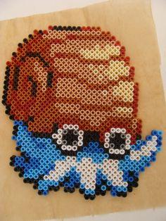 Omanyte - Pokemon hama beads by pletdenseje