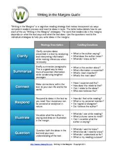 Comprehension Reading Skills