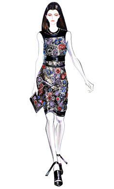 Fashion Illustration Mackenzie Drazan pour Christopher par sunnygu