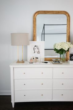 GIVEAWAY: We're giving away a stunning Henley Wide Dresser from Arhaus, the perfect addition to your bedroom decor, valued at over . Master Bedroom Design, Home Decor Bedroom, Bedroom Ideas, Modern Bedroom, Contemporary Bedroom, Bedroom Designs, Bedroom Images, Bed Designs, Bedroom Green