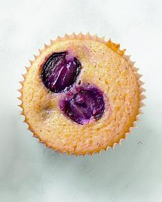 Gluten-Free Corn-Grape Muffins, Wholeliving.com