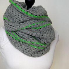 grey with neon green stripe wrapper - by studio soil