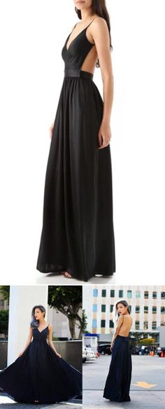 Beautiful Black Maxi / Gown