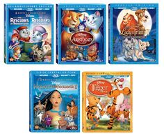 New to Blu-Ray 5 Disney films! {Giveaway ends 9/15}