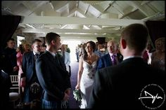 Wedding ceremony in Ballymagarvey Village - photograph by Dylan McBurney