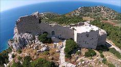 Castle of Kritinia Rhodes island 5 Star Resorts, Hotels And Resorts, Greece Rhodes, Sunny Beach, Beautiful Sunset, Rhode Island, Tourism, Like4like, Scenery