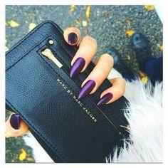 Violet stiletto