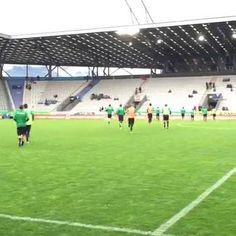Auf geht's zum Aufwärmen fürs Westderby gegen Austria Salzburg! Um 18:30 Uhr geht's los!!!