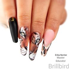 Nail Art, Nails, Painting, Finger Nails, Ongles, Painting Art, Nail Arts, Paintings, Painted Canvas