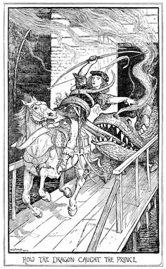 How the dragon caught the prince, Henry Justice Ford