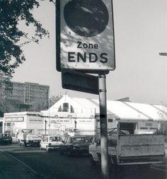 Peckham, Peckham Road Photo: Jake Tilson, 1988