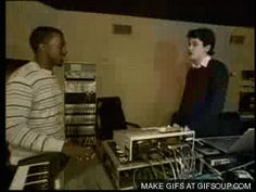 Click the pic for more! Awkward handshake between Kanye West and John Mayer animated GIF lol funny John Mayer, Kanye West, Shy People, People Failing, Funny Pictures Can't Stop Laughing, Fist Bump, Awkward Moments, Just For Laughs, So Little Time