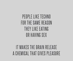 Almost Techno songs about sex are