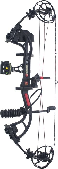 2015 pse premonition hd black compound bow package