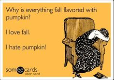 Why does everyone want to eat and drink pumpkins???  The are to carve and stick a candle inside!
