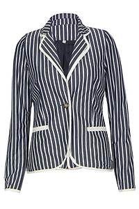 Nautical stripe blazer   eBay UK   eBay.co.uk
