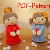 Amigurumi Angel crochet pattern 26Page - via @Craftsy