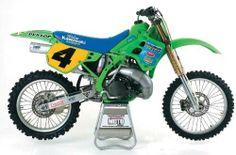 1991 Kawasaki SR500 Works bike