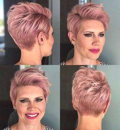 Short Haircuts Pink 2017 - 5
