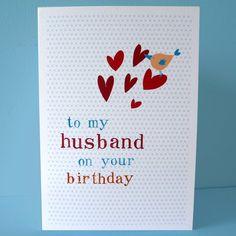 "husband birthday card diy | Folksy :: Buy ""husband birthday card"""