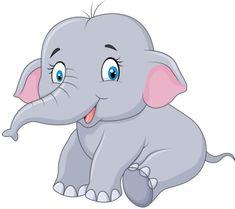 Résultat d'images pour Mom and Baby Elephant Cartoon Clip Art Cute Elephant Cartoon, Baby Cartoon, Cartoon Pics, Cute Cartoon, Cartoon Clip, Mom And Baby Elephant, Elephant Love, Elephant Art, Baby Animals