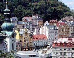 karlovy vary, Czech Republic #LittleGEMs #GEM #thinkgem #travels #explore Places To Travel, Places To Visit, Interesting Buildings, European Countries, Central Europe, Urban Design, Czech Republic, Prague, Places Ive Been