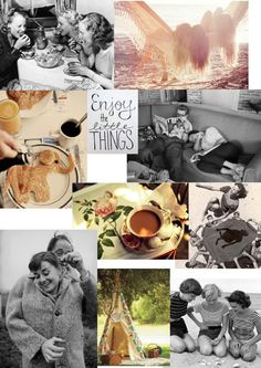 Moodboard: Enjoy the little things