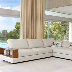 The award-winning Jasper creates a big wow factor and it's infinite configurations are perfect for open plan living. #kinglivingnz #furniture #interiordesign #luxuryliving by kinglivingnz