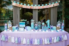 A dream first birthday party for my future baby girl. It's not too soon to dream, ey? Hehehe! ^^