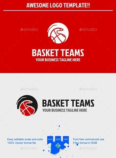 Basketball Logo — Vector EPS #basketball #website • Available here → https://graphicriver.net/item/basketball-logo/9698884?ref=pxcr