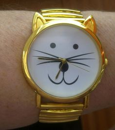 Gold Watch – Crazy Cat Lady Clothing