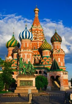 3. Visit Moscow